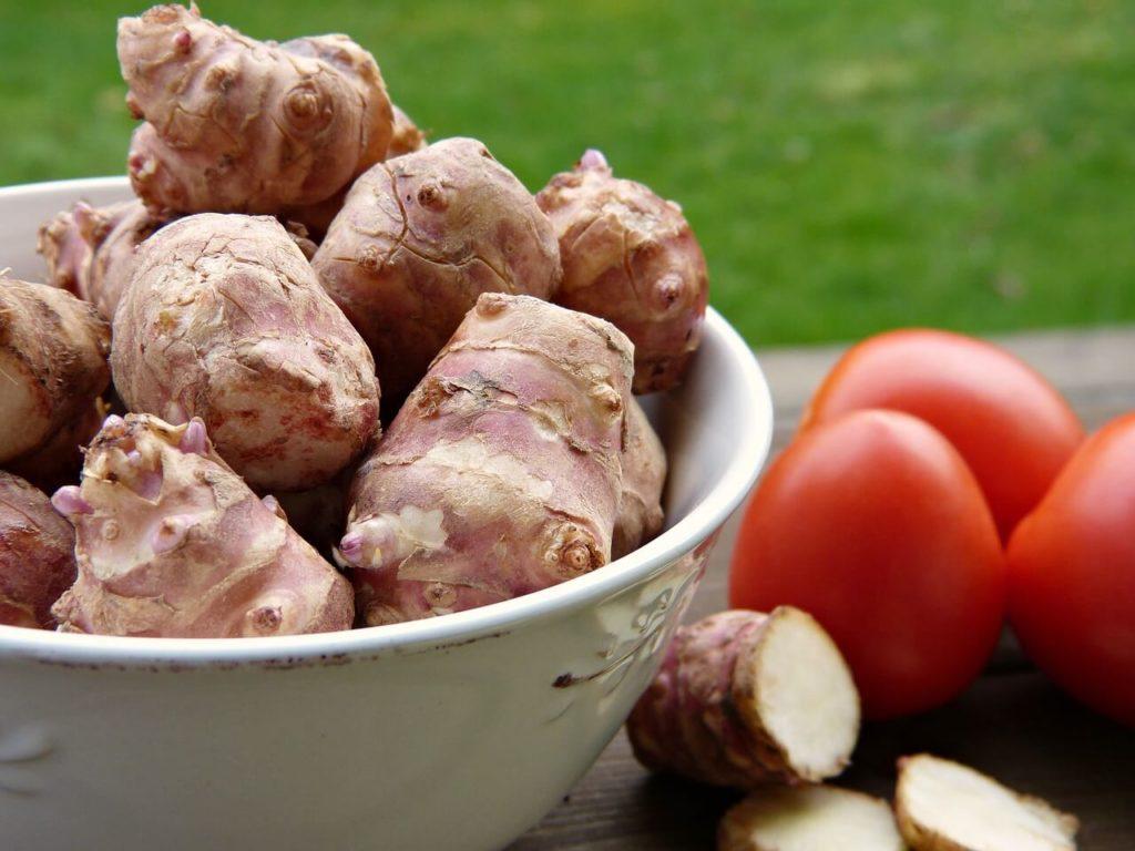 Topinambur ein Klasse Kartoffel Alternative