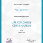 Business Mentor Peter Gehlmann - Zertifikat Life Coach